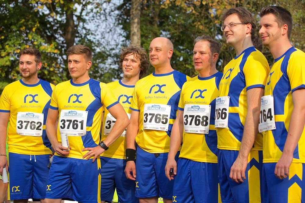 RelAix.-Teams beim 3. Aachener Firmenlauf